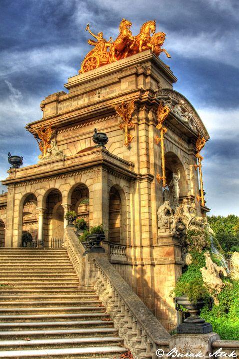 Parc de la Ciutadella in Barcelona, Spain