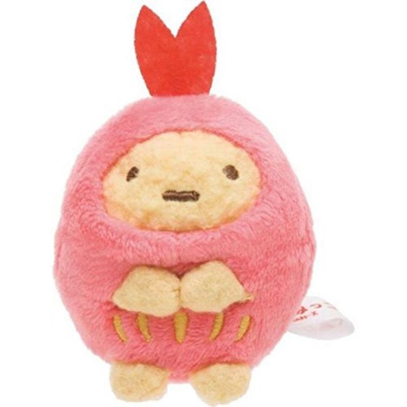 New Soft Miniature Plush Fried Shrimp San X Sumikko Gurashi Soft