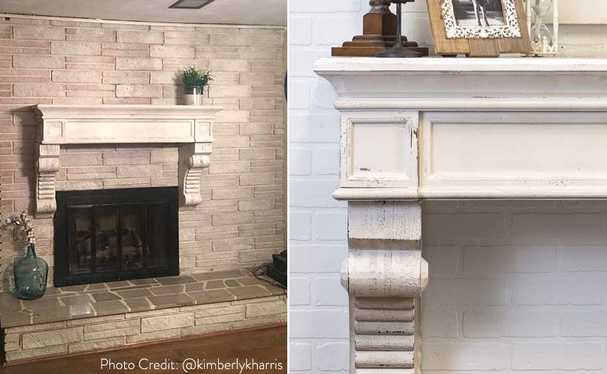 56 White Distressed Corbel Shelf Old Houses Home House