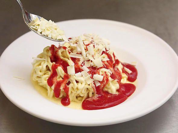 die besten 25 spaghetti eis nachtisch ideen auf pinterest spaghetti eis dessert. Black Bedroom Furniture Sets. Home Design Ideas