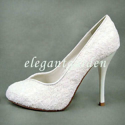 17 Best images about wedding ideas on Pinterest | Lace shoes, Pump ...