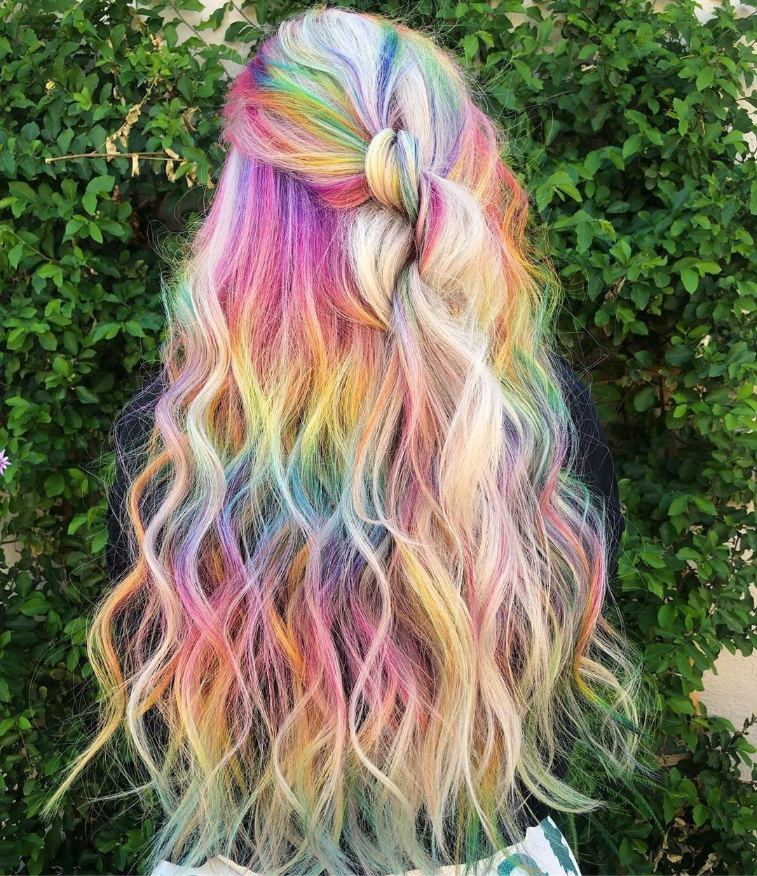 Pin by Nonie Chang on Dyed Hair in 2020 | Rainbow ...