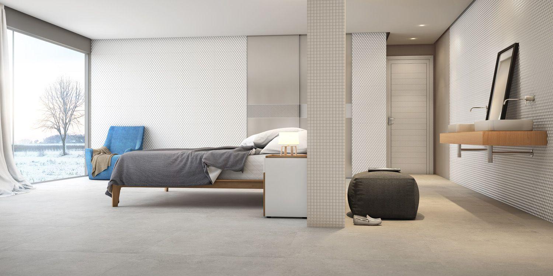 Revestimentos Eliane para quartos. Eliane's tiles for bedrooms.