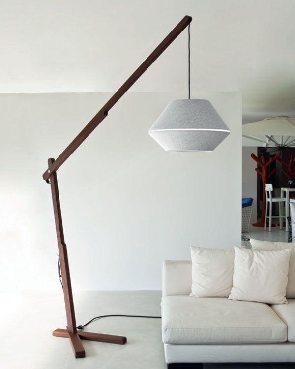 Amazing Designer Stehlampen Contardi Oops Holz