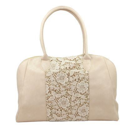 Lace Temple Bag - Fine craftsmanship and quality details make this ...