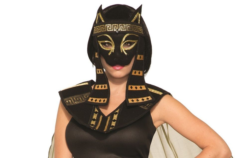 Mythical Creatures Bastet Egyptian Cat Goddess Women/'s Adult Halloween Costume