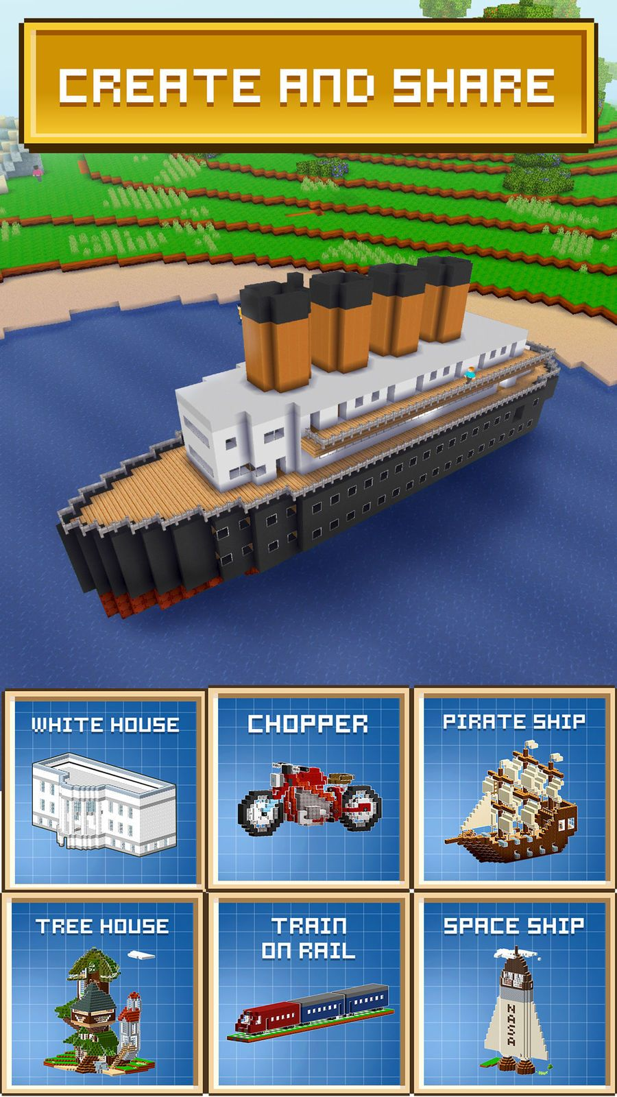 Block Craft 3D: City Building #Role#Free#Playing#Entertainment