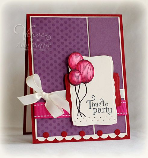 Party Time by Amy Sheffer  More great cards