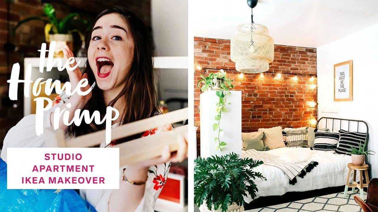 Stunning Studio Apartment Makeover On A Budget | Ikea ...