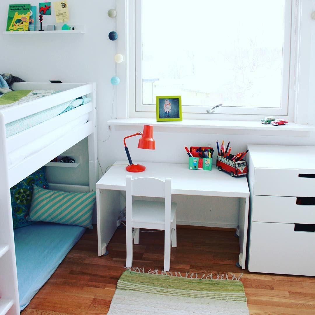 Frisker opp barnerommet litt! #stuva #frkfargeglad #farger #colours #ikea #barnerom #inspirasjon ...