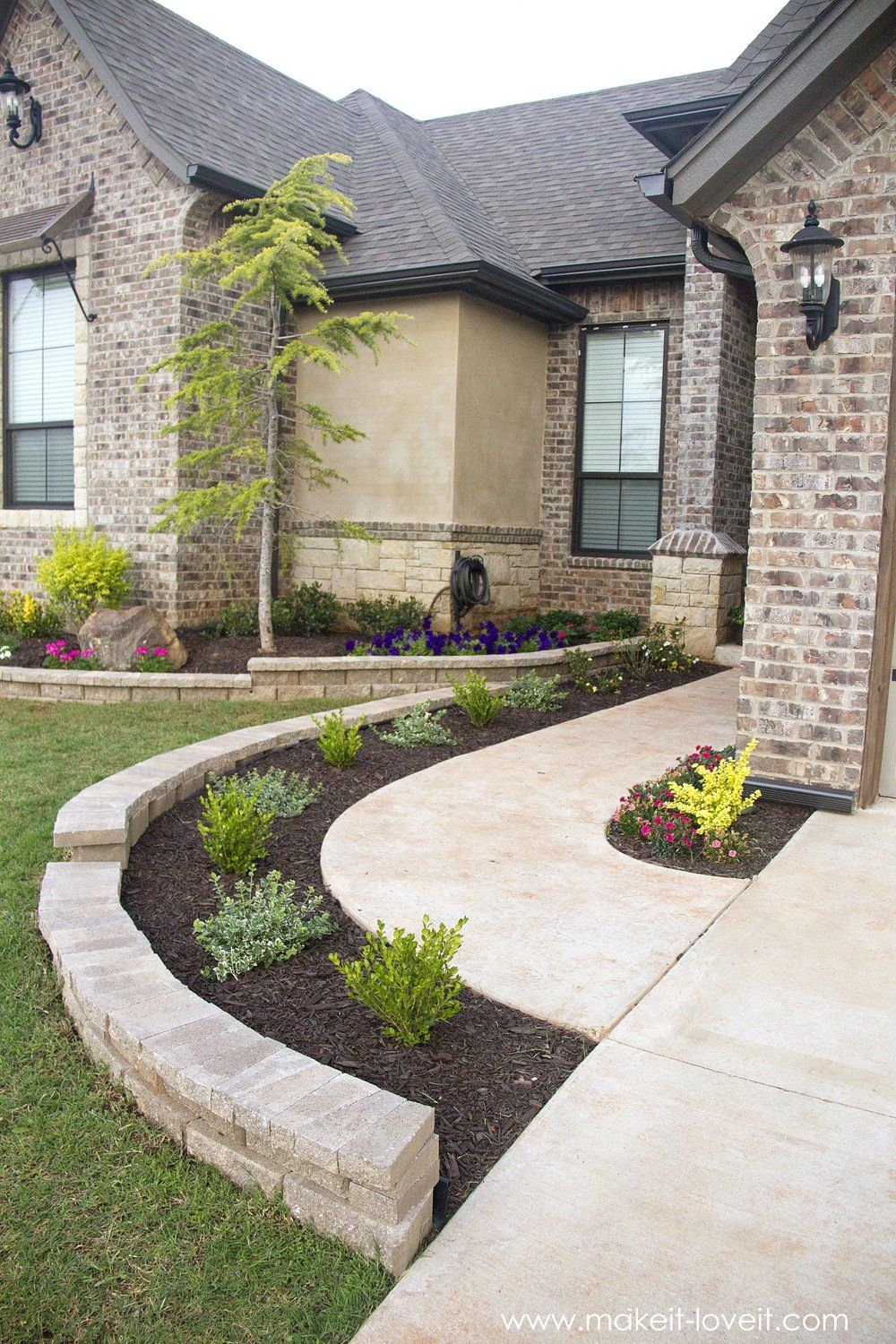 how to landscape hardscape a front yard from our on modern front yard landscaping ideas id=87025