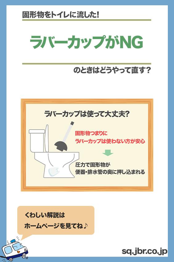 ビニール袋をトイレに流したけど ラバーカップは使って大丈夫 対処 症状 ラバー
