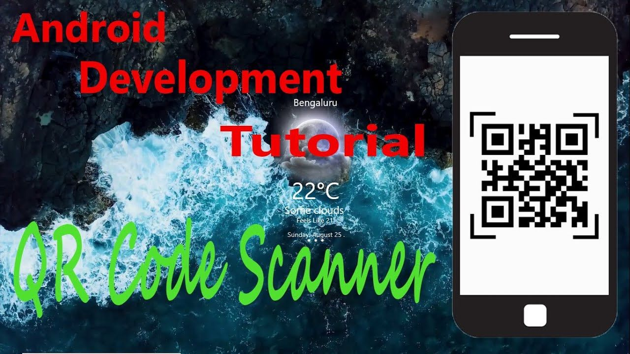 How To Create A Qr Code Scanner App Android Tutorial Android Tutorials Scanner App Qr Code Scanner App