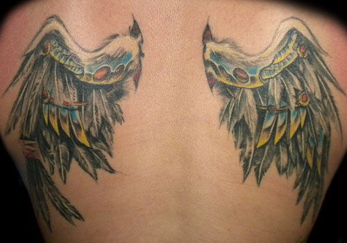 Wings Tattoo Design The Bio Mechanical Angel Wing Meaning And Designs Tattooeve