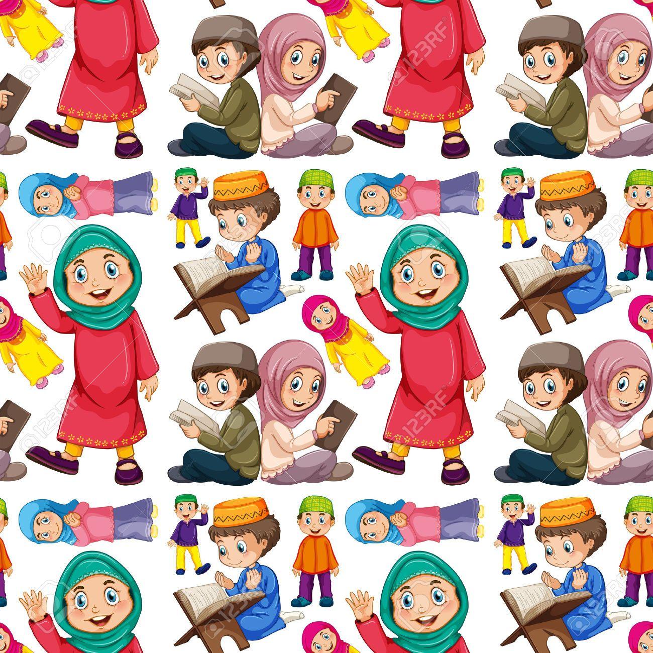 Stock Vector Gambar karakter, Kartun, Gambar