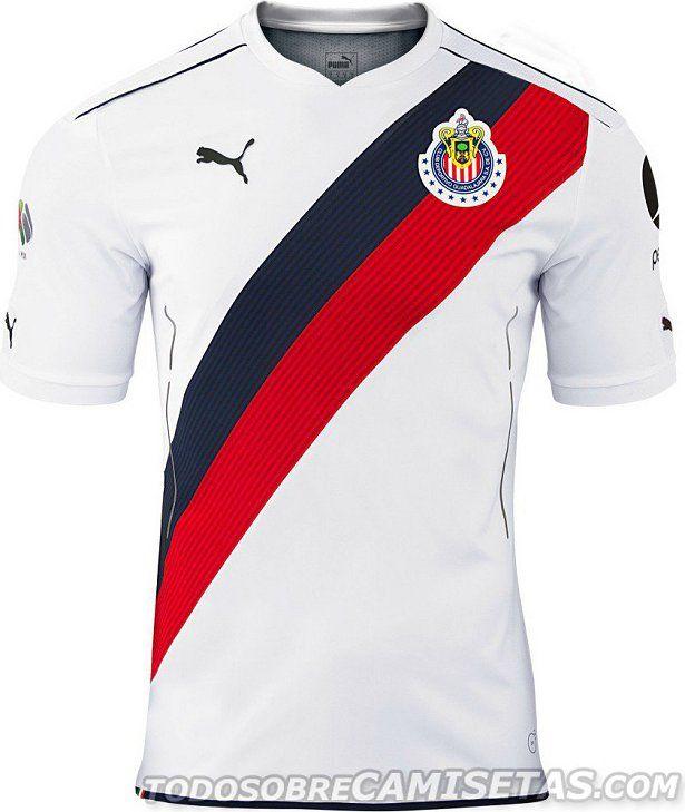 Puma apresenta novos uniformes do Chivas Guadalajara - Show de Camisas a0144165b162e