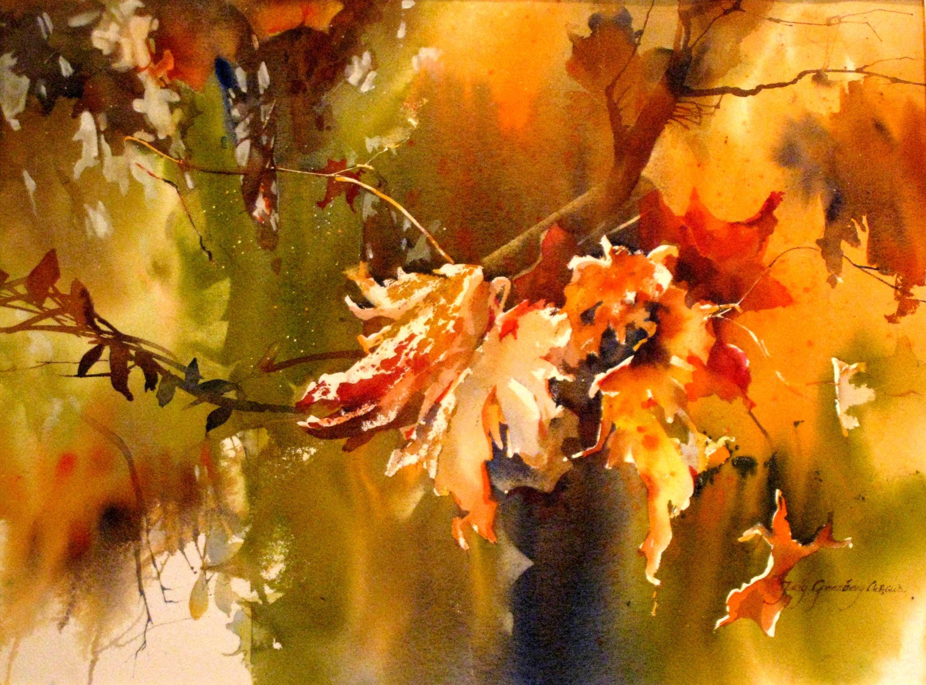 "judy betts watercolor artist | DVD..... ""Creative Watercolor Using Gel Medium"""