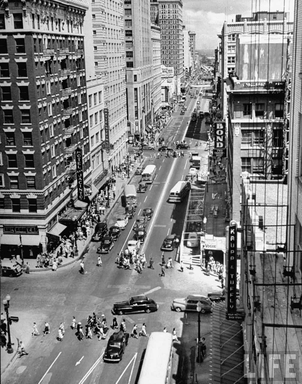 Vintage Houston Skyscrapercity Historic Houston Area