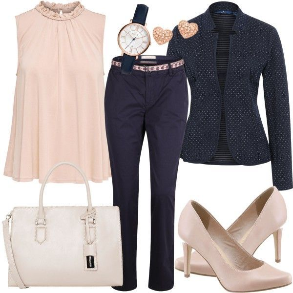 Photo of Business Outfits: Work at FrauenOutfits.deHere an elegant …