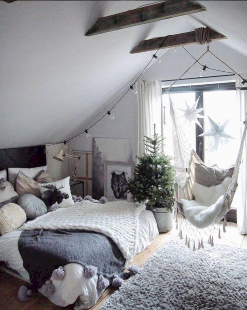 60 Beautiful Bedrooms Design Ideas With Swing Chairs Quartos ~ Prateleiras Para Quarto Casal E Decoração Quarto Hipster
