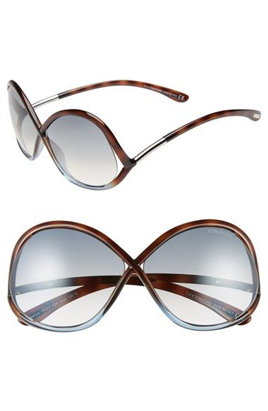 53b9acc0b18d Tom Ford  Ivanna  64mm Sunglasses available at  Nordstrom - love these