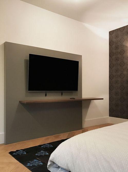 Zwevende Plank Onder Tv.Project Appartement Amsterdam Slaapkamer Pinterest Room