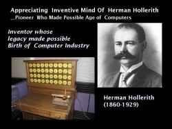 herman hollerith computer