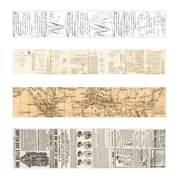 Create Vintage Washi Tape Decorative Paper Masking Tape Diy Adhesive Scrapbook Sticker In 2020 Scrapbook Stickers Printable Scrapbook Stickers Bullet Journal Stickers