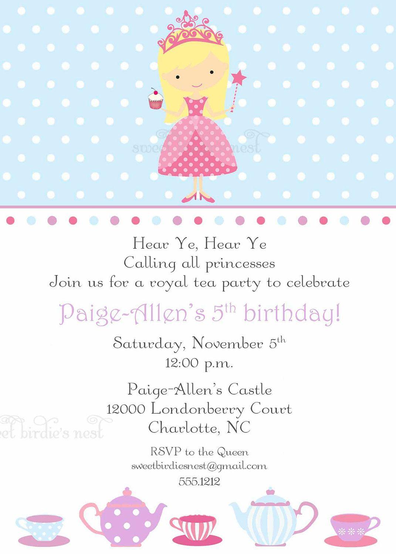 Princess tea party invitation by sweetbirdiesnest on etsy 2800 princess tea party invitation by sweetbirdiesnest on etsy 2800 monicamarmolfo Image collections