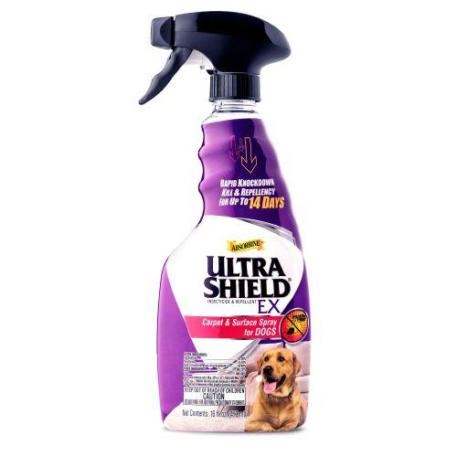 Dog Tears Up Rug: Absorbine UltraShield EX Carpet & Surface Spray For Dogs