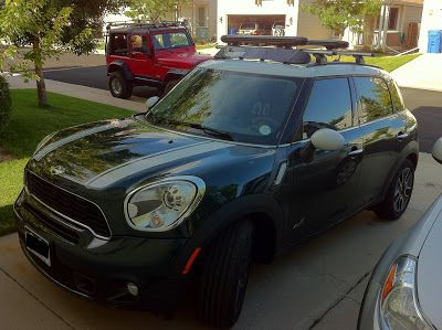 Roof Rack Installation On Mini Cooper With Sunroof Mini Cooper Mini Roof Rack