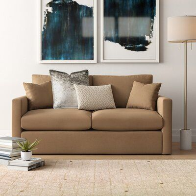 Brayden Studio Ardencroft Sofa Bed Upholstery Obsessions Herbal