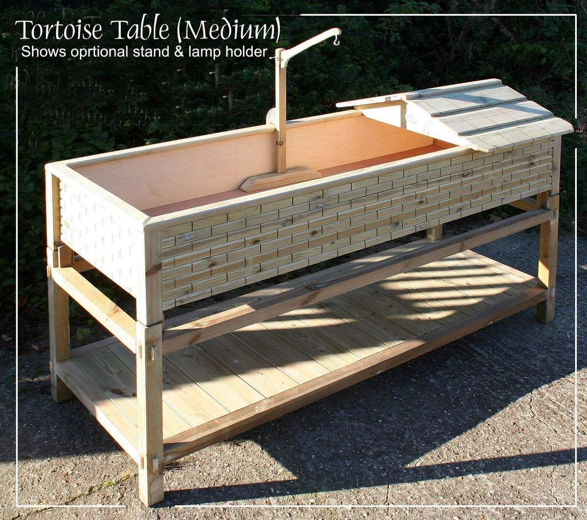 Large tortoise table tortoise table