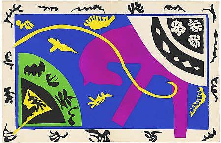 Le Cheval l'écuyère et le clown [The Horse, the Rider and the Clown] Published 1947 Glasgow Modern Art
