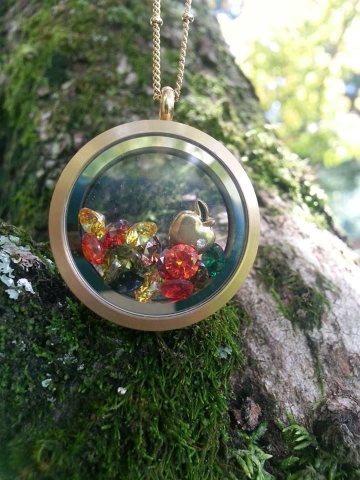 Fall inspired locket..  For more ideas visit my fb fan page at: https://www.facebook.com/OOIndependentDesignerKimMichels