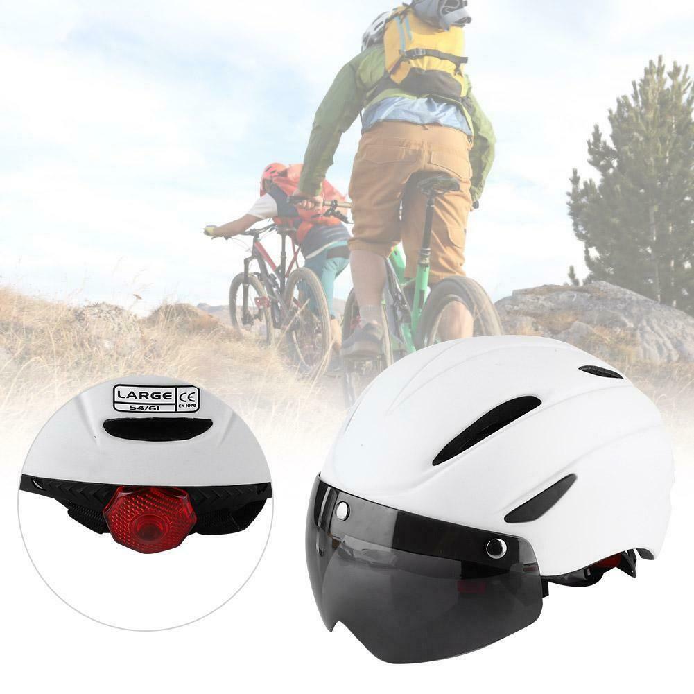 Night Cycling Mtb Road Bike Cycling Helmet 58 61cm Eps Integrally