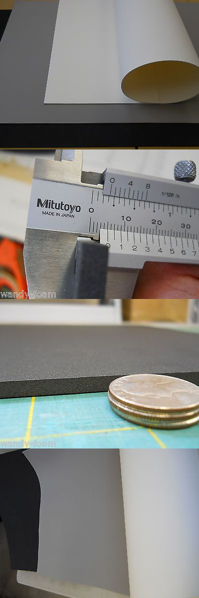 Styrofoam Forms 41200 5mm X 26 X 39 Large Eva Foam Sheet Black White Grey Bonus Sheet With 2 Buy Buy It Now