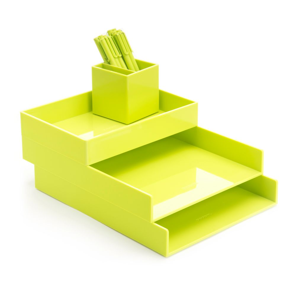 lime green office accessories. Lime Green Desktop Set Lime Green Office Accessories