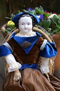 Civil war doll circa 1860.