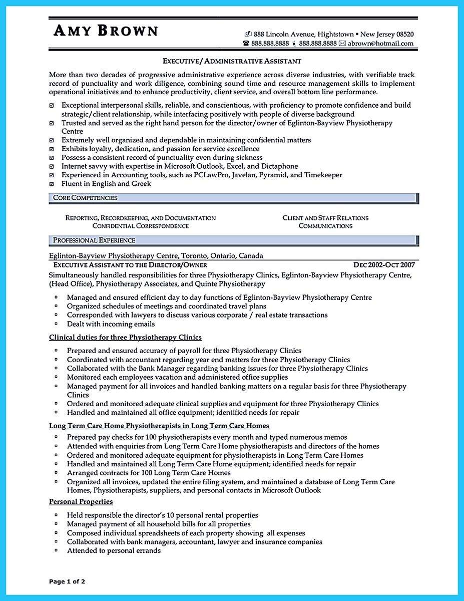 nice Professional Administrative Resume Sample to Make You