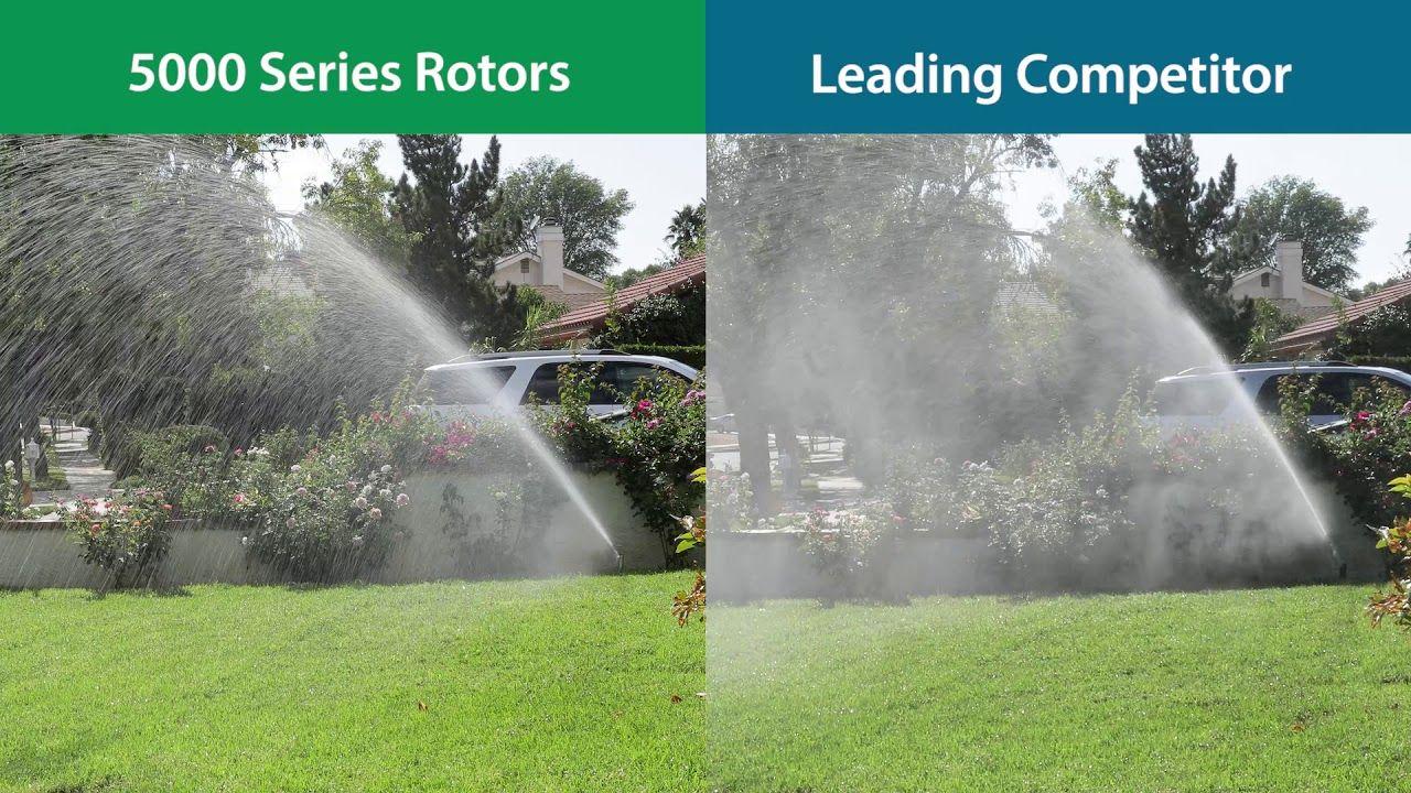 Rain Bird 5000 Series Rotors Rain Curtain in 2020 Rain