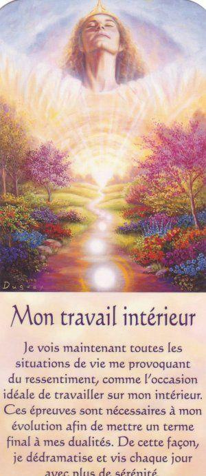 Mon Travail Interieur Texte Spiritualite Eveil Spirituel Spirituel