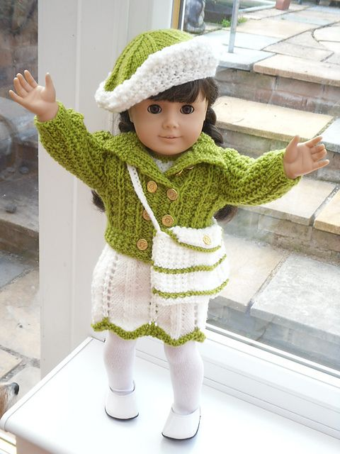 Hand knitted by Nanny Pat