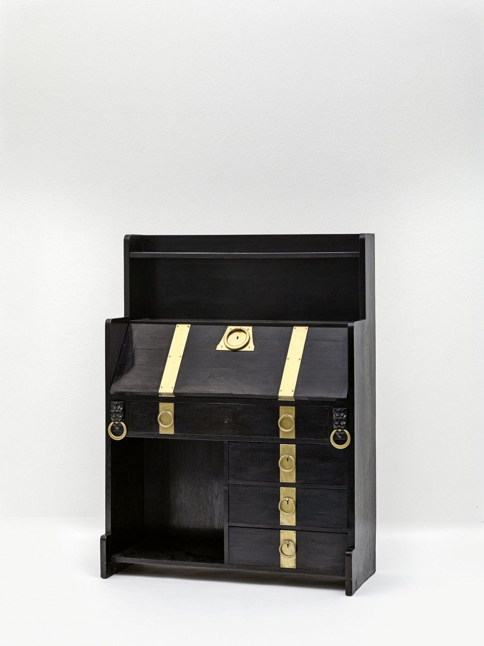 Adolf Loos Writing Cabinet From An Unidentified Interior Ca  # Adolf Loos Muebles