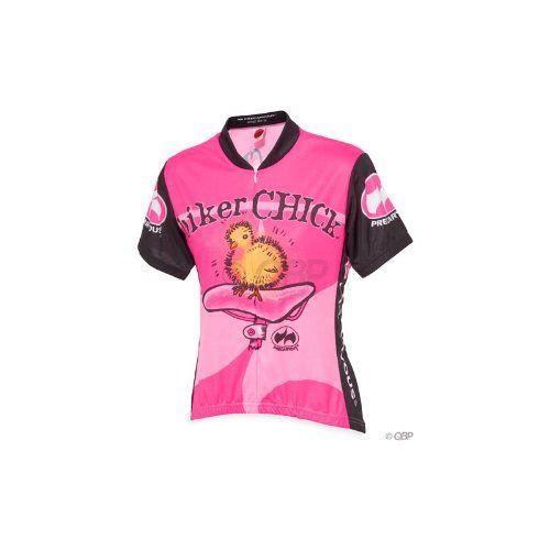 World Jerseys Biker Chick Jersey SM Pink $52.00