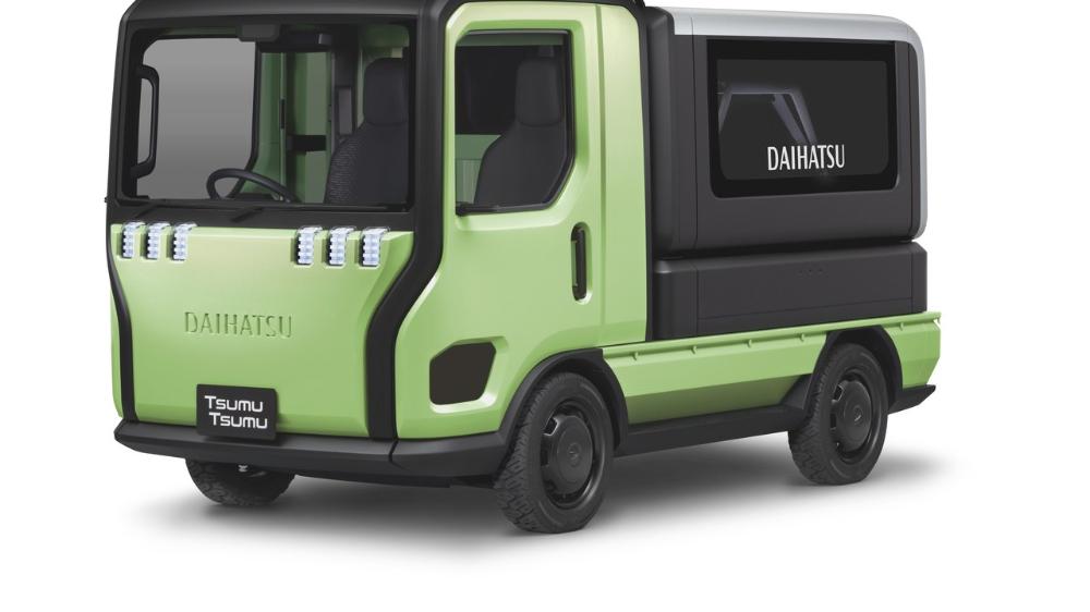 未来の軽トラがカッコいい ダイハツ Tsumu Tsumu登場 ダイハツ 軽 自動車