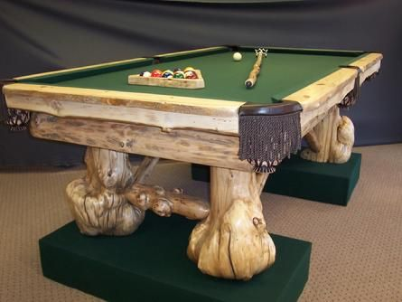 Nice Custom Home Made Pool Tables By Barons Billiards