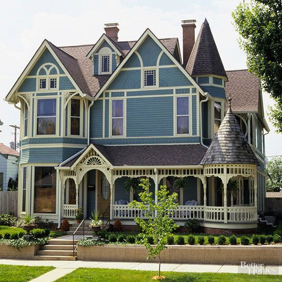Victorian style home ideas victorian houses victorian - Types of victorian homes ...