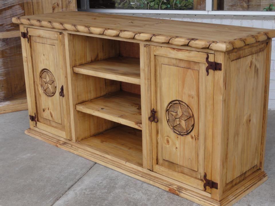 TV Stand · Western FurnitureRustic ...