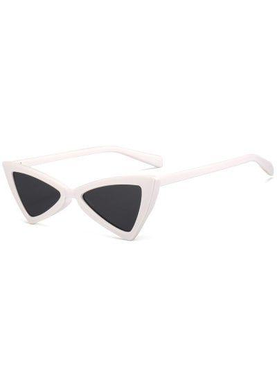 Anti-fatigue Full Frame Decoration Irregular Butterfly Sunglasses ...